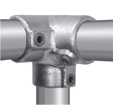 Chain Link Fence Clamp On Tees Chain Link Fence Post Pipe